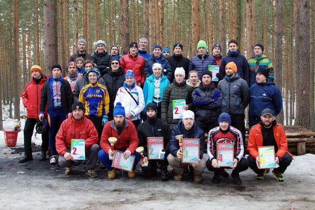 Спортивный клуб XCnews. Награждение победителей и призеров зимней серии гонок в Дюнах.