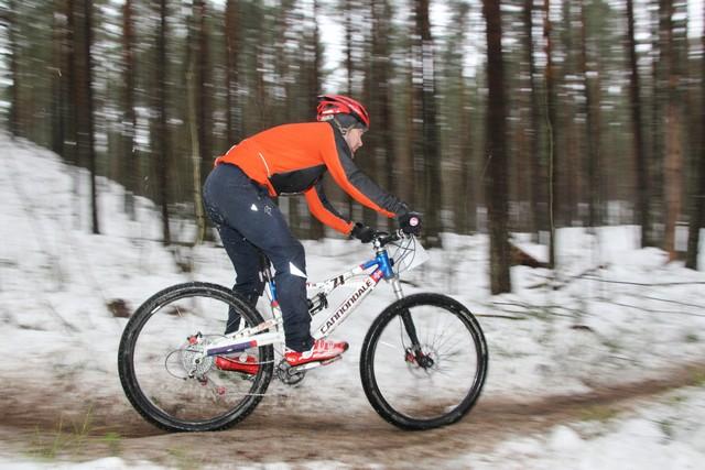 Зимняя серия гонок кросс кантри