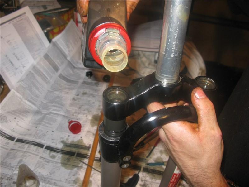 Переборка и ремонт вилок спб