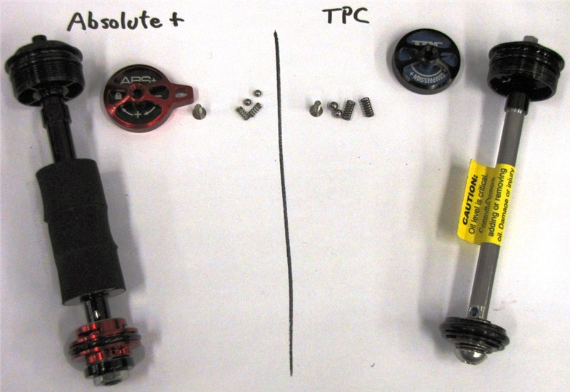Демпферы Absolute+ vs TPC