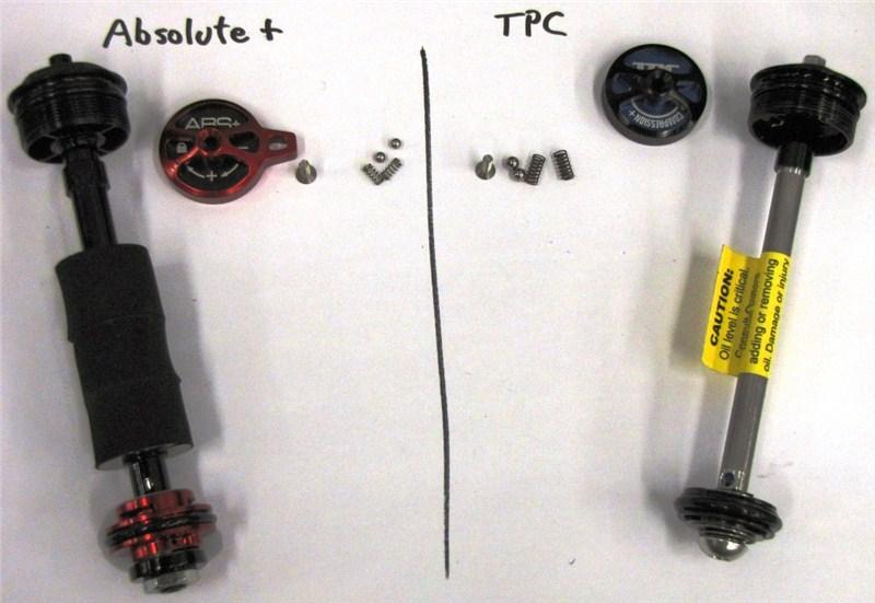 Демпферы Absolute+ vs TPC