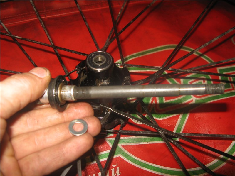 результате ремонт переднего колеса велосипеда чтобы получить