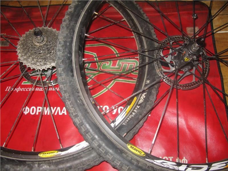 Велосипедные колеса в сборе Mavic Crossride 2008.