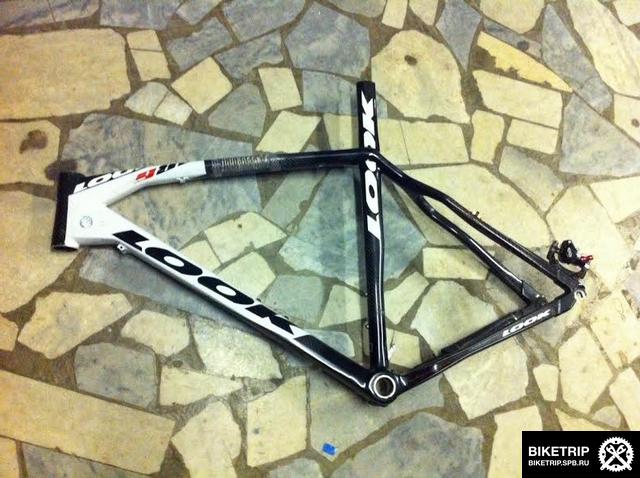 broked carbon frame Look repair