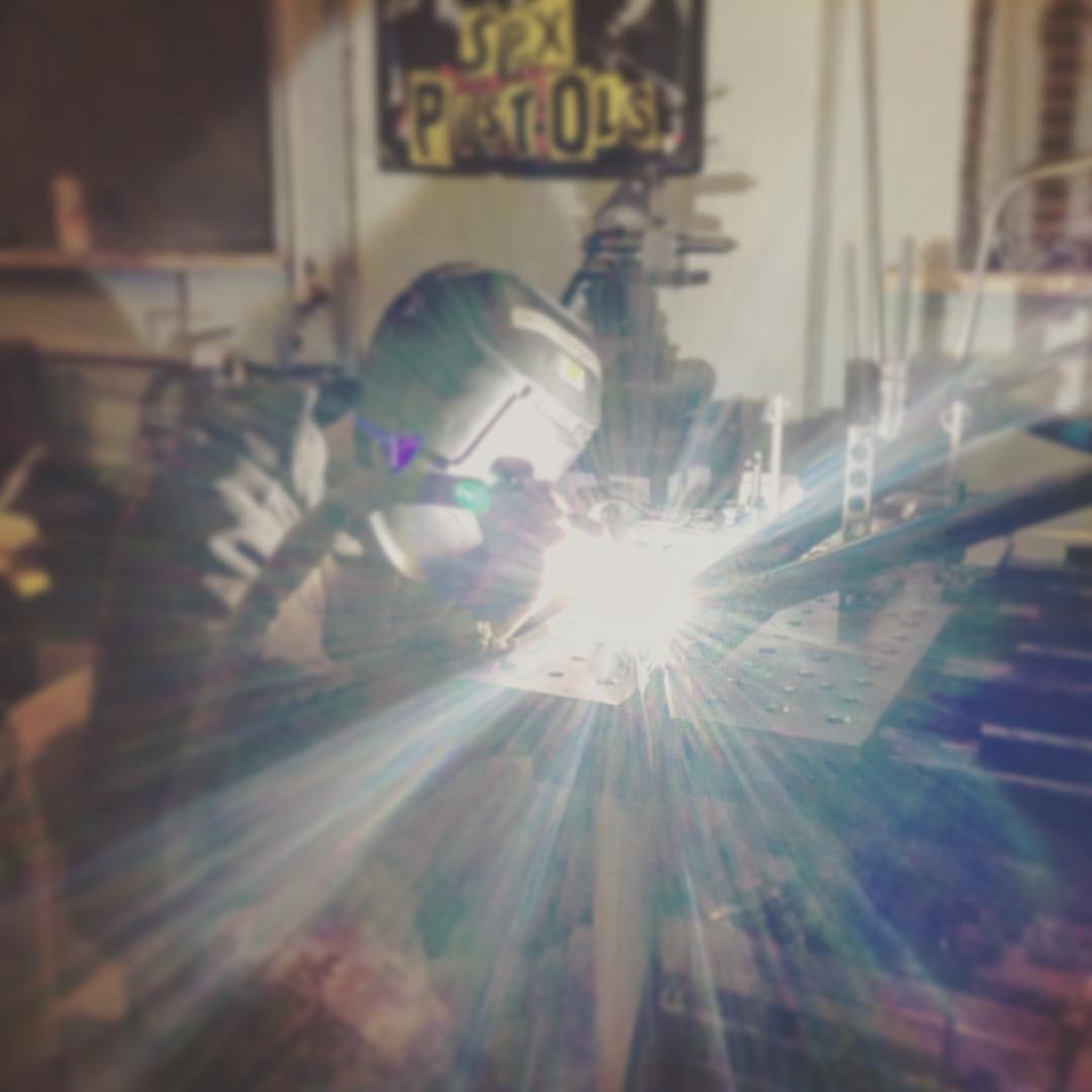Сварка алюминиевых рам в metal_DIY