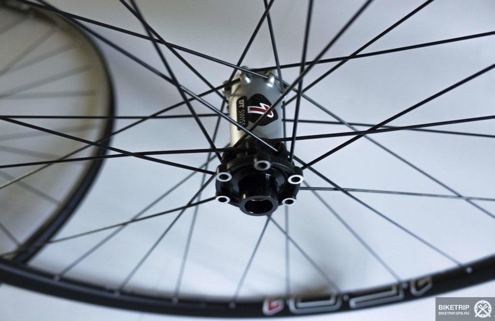 Dt swiss front hub