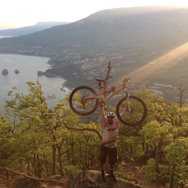 Веловосхождение на гору Аю-Даг в Партените.